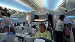 Business Class on the new Boeing Dreamliner