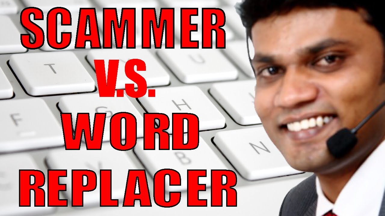 Online word replacer
