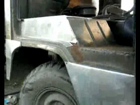 уаз-452,-3303 ремонт кузова за