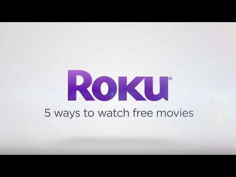 5 ways to watch FREE movies on the Roku platform