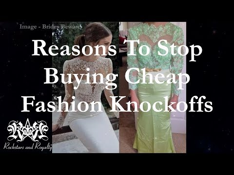 Why You Need To Stop Buying Cheap Fashion Knock Offs + Wedding Dress Shopping On A Budget