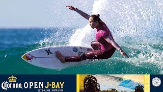 Moore vs. Marks vs. Ho - Round One, Heat 6 - Corona Open J-Bay - Women's 2018