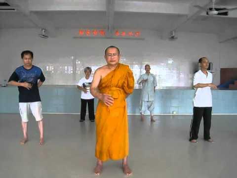 Ajahn Suthep teaching Qi Gong