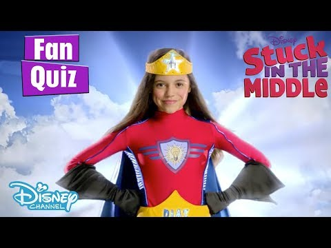 Stuck in the Middle | Are you a Super Fan? Test Yourself! | Disney Channel UK