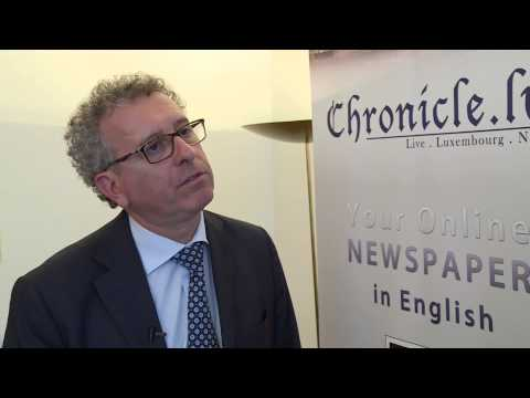 Chronicle.lu Interview with Pierre Gramegna