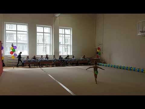 Художественная гимнастика Арина Барабаш 2013