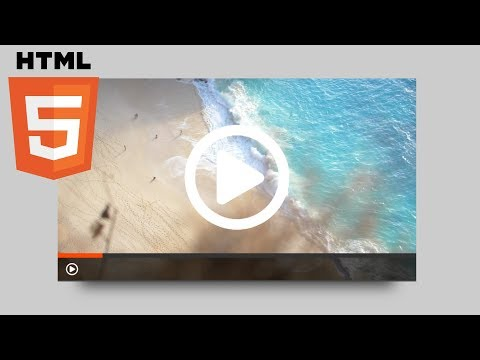 Create A Custom HTML5 Video Player