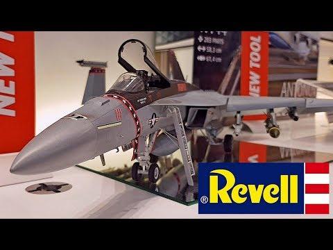 REVELL @ Nürnberg Toy Fair 2018 NEW KITS! - YouTube