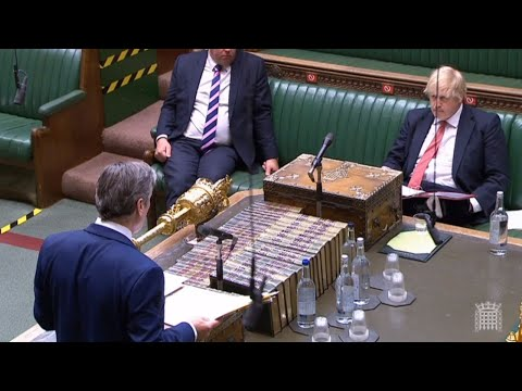 Watch again: Boris Johnson faces Keir Starmer at Prime Minister's Questions