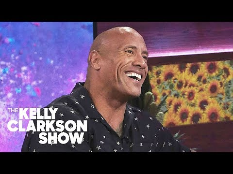 Whiskey and Randy - The Rock Joins The Kelly Clarkson Show, Shares Update on Friend Kevin Hart