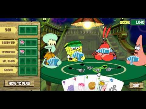 SpongeBob Game 3:Poop Deck Draw Down - YouTube