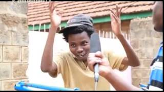 Mwanake umwe kwiyethera uboco na njira ya mathekania Githurai
