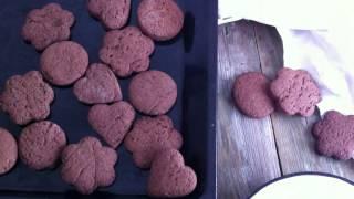 вкусный рецепт шоколадного печенья \ домашний рецепт