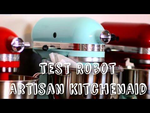 demonstration-et-test-robot-patissier- -robot-artisan-kitchenaid-4,8l