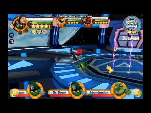 Marvel Super Hero Squad Online Doomsday in Space! Crisis Edition