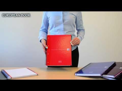 Kołonotatnik Oxford Europeanbook