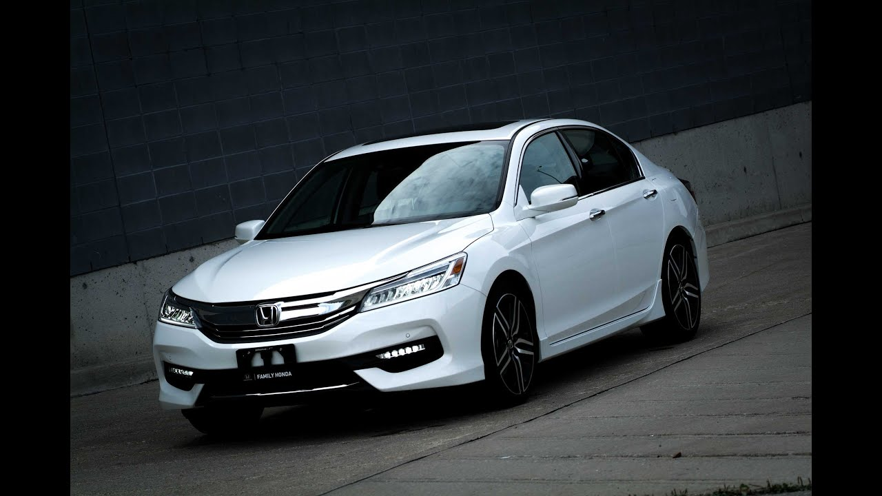 2016 Honda Accord V6 Touring - Quick Preview - YouTube