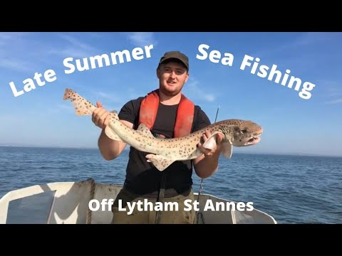 Late Summer Sea Fishing - Off Lytham St Annes