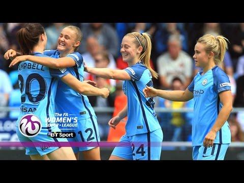 Manchester City Women 3-0 Sunderland Ladies | Goals & Highlights
