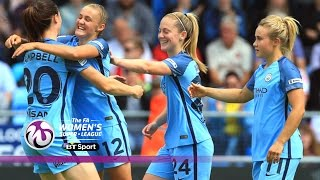 Manchester City Women 3-0 Sunderland Ladies | Goals & Highlights