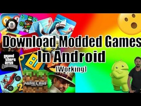 How To Get Modded Games On Android (Updated) 2018