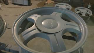 Автопреображение #1: покраска дисков на приору