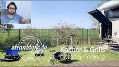 Wohnmobil Outdoor Cooking, unsere beiden Lieblinge kurz vorgestellt: Weber und Hockerkocher.