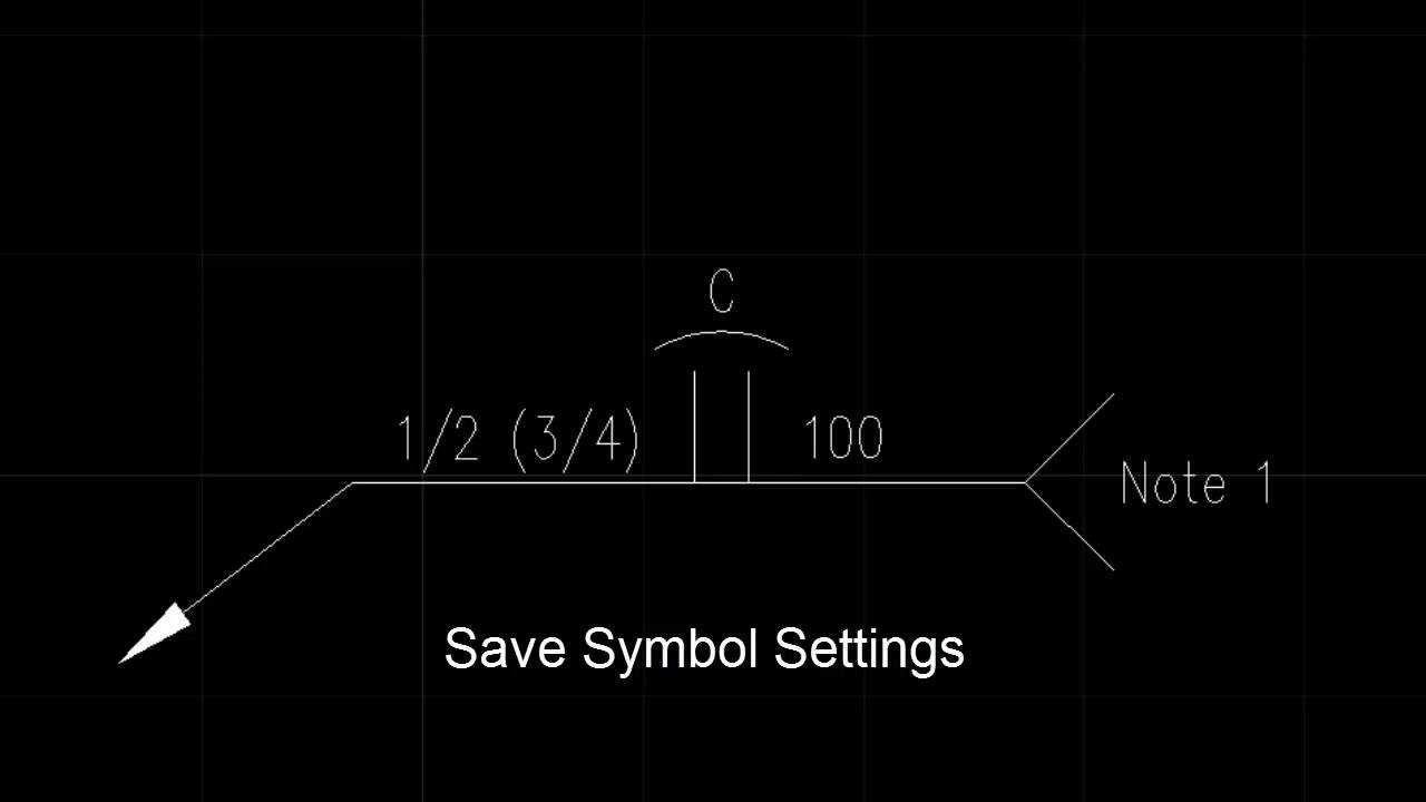 Welding Symbols For Autocad Weld2k Youtube