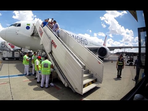 LATAM Boeing 767-300ER Galeão - Guarulhos [Voo Completo]