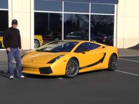 2008 Lamborghini Gallardo Superleggera Test Drive Video