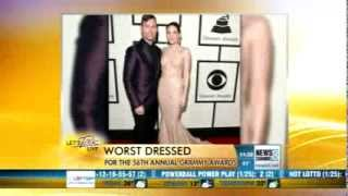 Let's Talk Live Grammy Fashion Recap Thumbnail