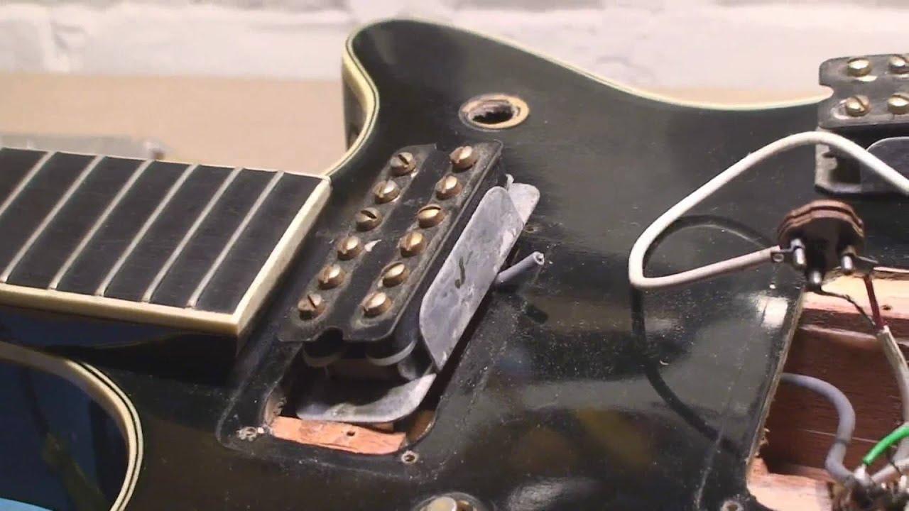 medium resolution of vintage gretsch gets wiring youtube gretsch guitar wiring diagram danelectro wiring