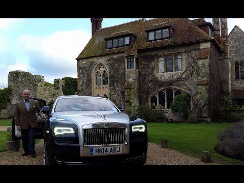 Rolls-Royce Exclusive Factory Tour 2015 جولة حصرية في مصنع رولز رويس