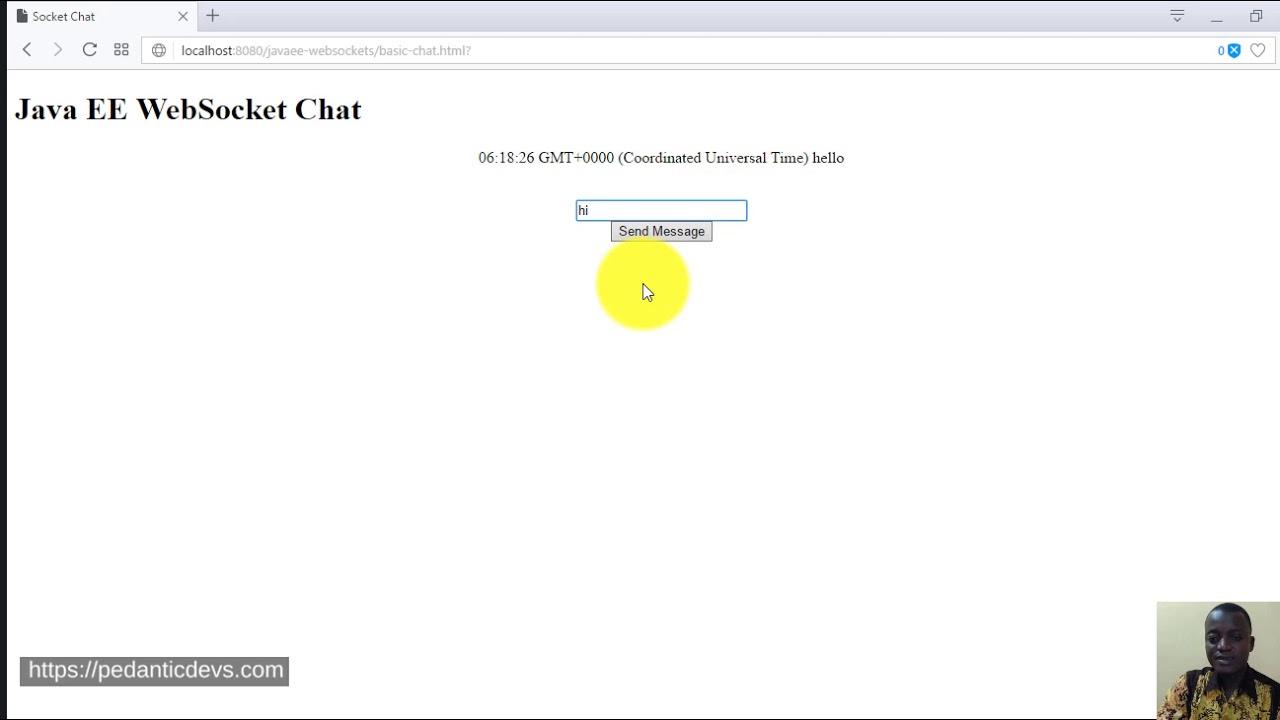 Java EE WebSockets Example Tutorial