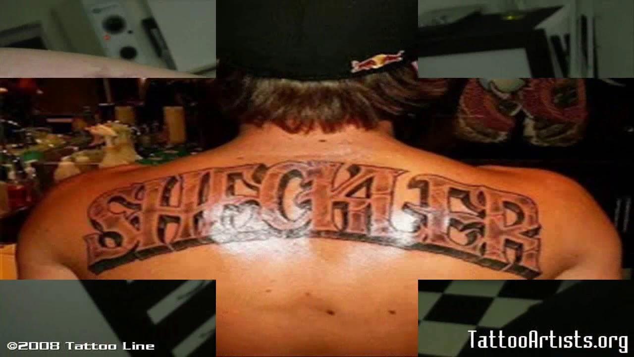 30 Hermosos Tatuajes De Letras 3d Para Mujeres Y Hombres Youtube