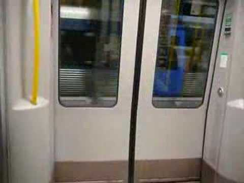 Stockholm underground/Stockholms tunnelbana Med.borg-Slussen