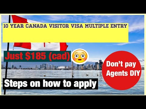 How To Apply For Canada Visitor Visa In 2020(step By Step Guide)