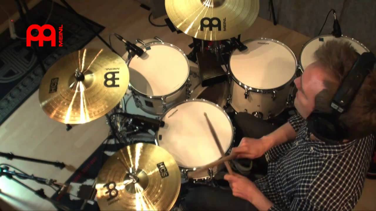 meinl hcs complete cymbal set up youtube. Black Bedroom Furniture Sets. Home Design Ideas