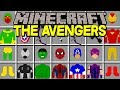 Minecraft THE AVENGERS MOD! | NEW SUPERHEROES, IRONMAN, THOR, HULK, & MORE! | Modded Mini-Game