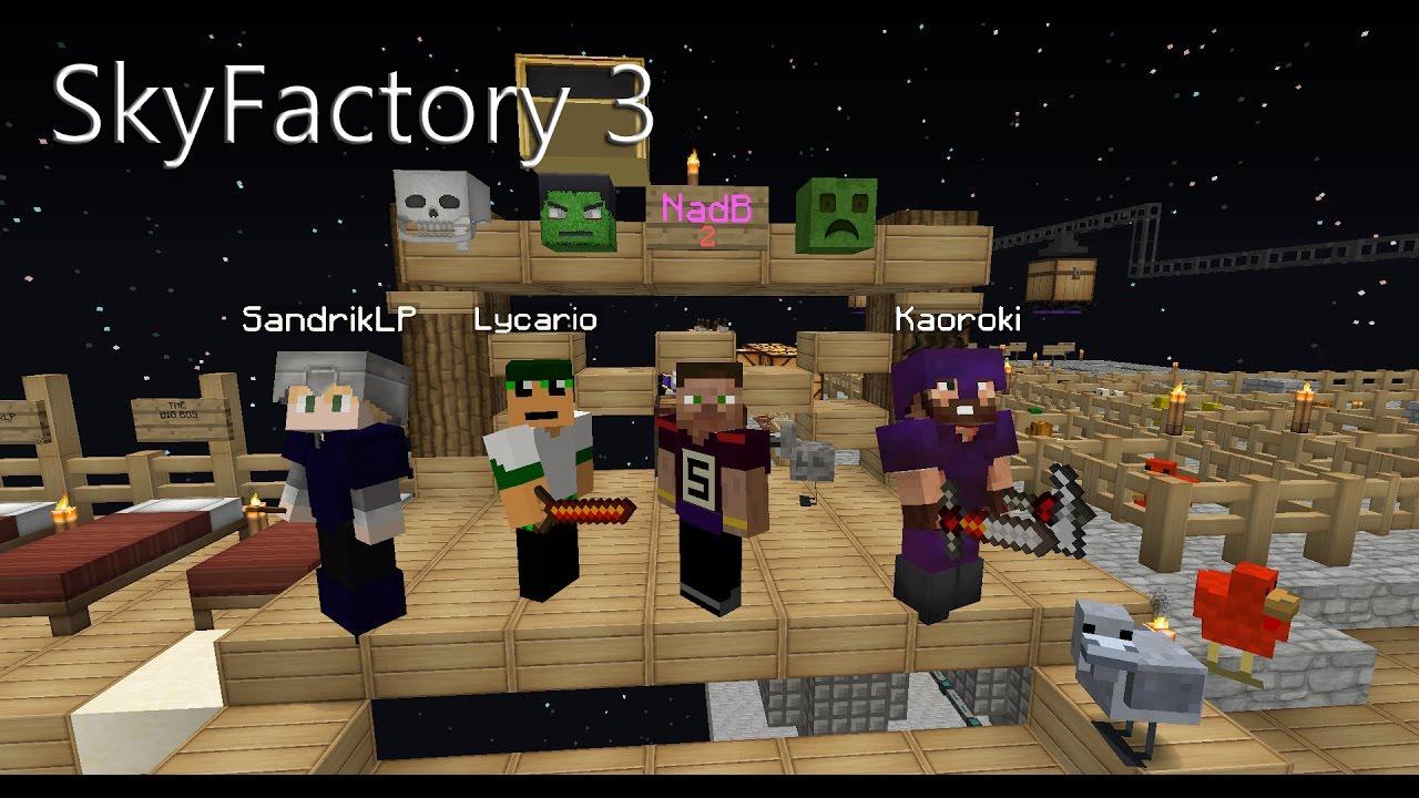 Minecraft SkyFactory Folge ENDER PEARL CHICKEN YouTube - Minecraft online spielen ab welchem alter