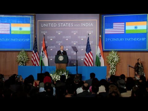 Remarks By Vice President Biden on U.S. - India Partnership