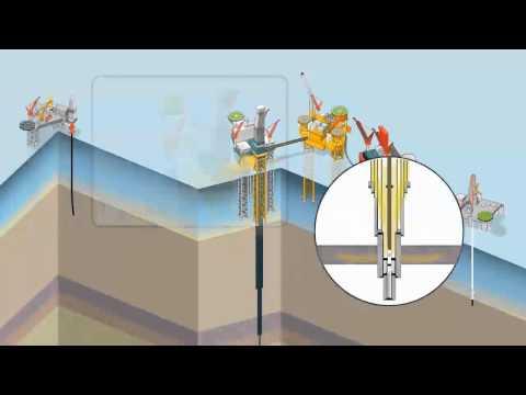 Total - Solutions techniques pour stopper la fuite de gaz sur Elgin