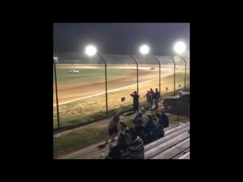 13 year old Jordan Fowler super street heat race Golden isles speedway 5-14-16