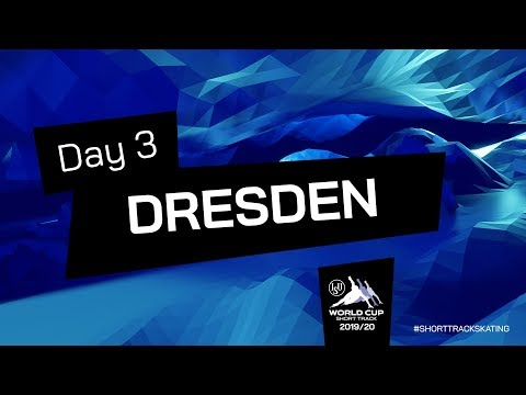 LIVE 🔴 | Day 3 | World Cup Dresden 2020 | #ShortTrackSkating