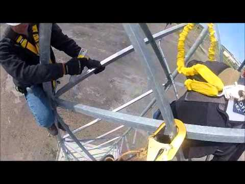 wind turbine anemometer installation