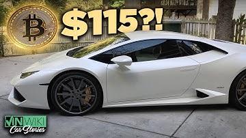 I just bought a Lamborghini with Bitcoin