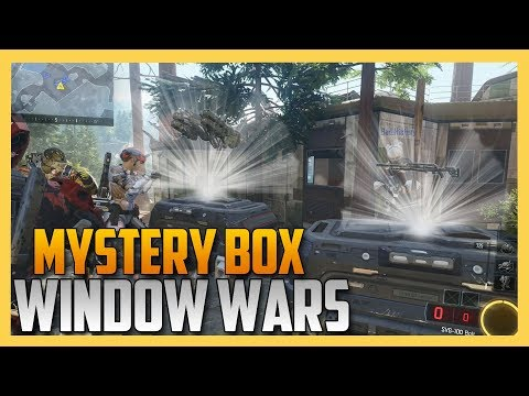 Mystery Box Window Wars brought to you by GrubHub!