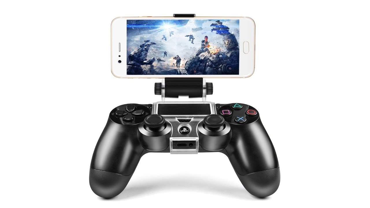 control ps3 with iphone ps4 controller cell phone clip clamp holder review by 9960