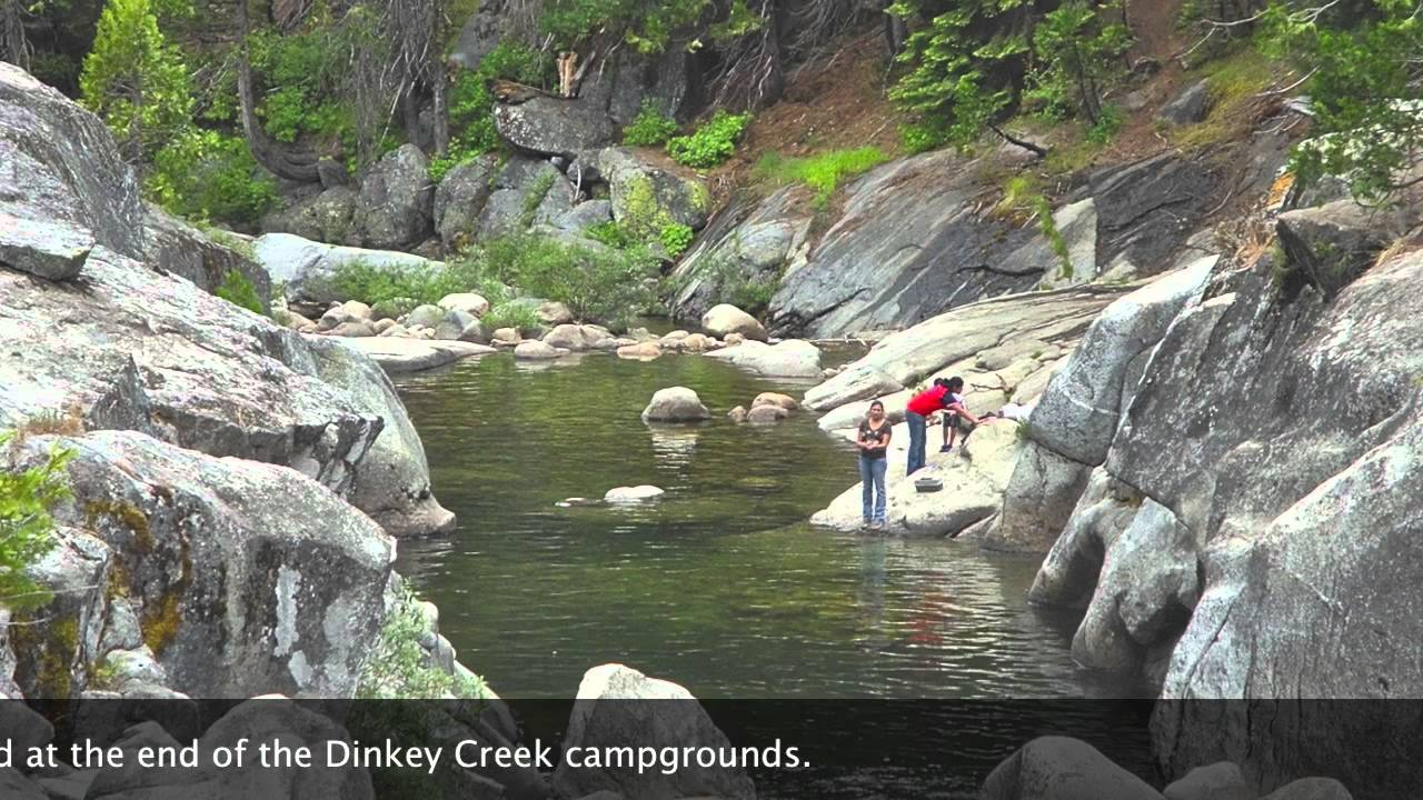 The slicks a visit to dinkey creek youtube for Shaver lake fishing report