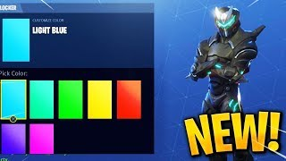 COLOR Changing OMEGA & CARBIDE! *NEW* Thermal Scoped Assault Rifle! (Fortnite Patch v4.4)